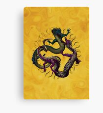 Eastern Dragons Canvas Print