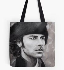 Aidan Turner - Ross Poldark - Pastel Portrait 1 Tote Bag