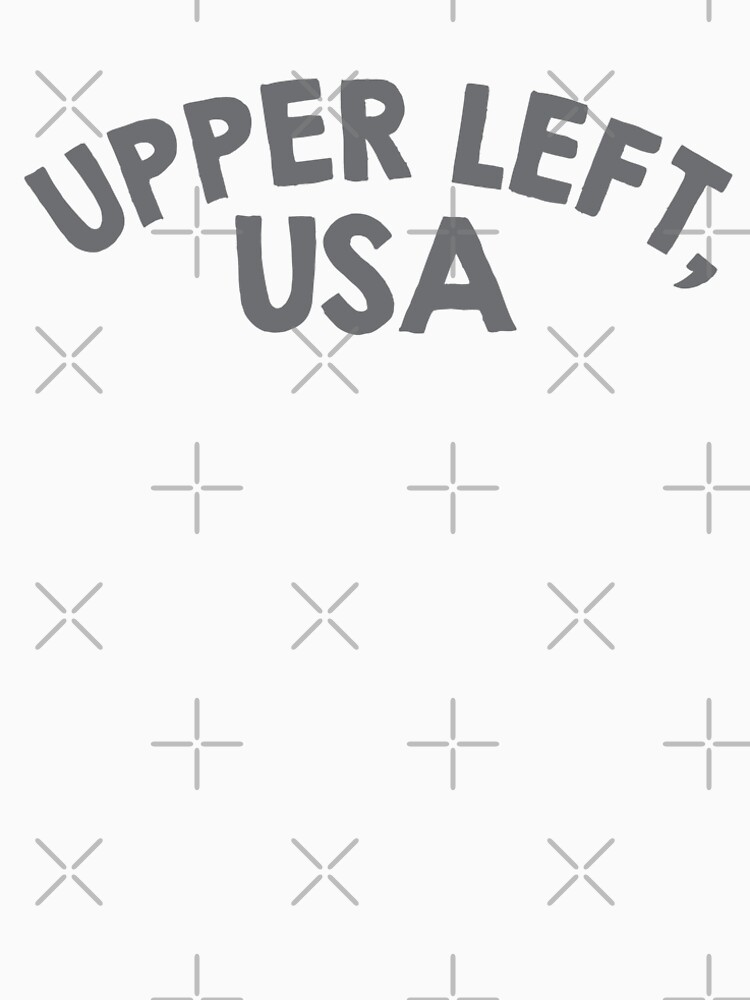 Upper Left, USA by Designs111