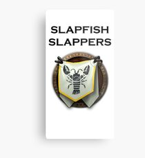 Slapfish Slappers Metal Print