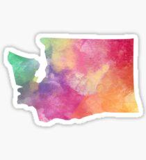 Washington Watercolor Sticker