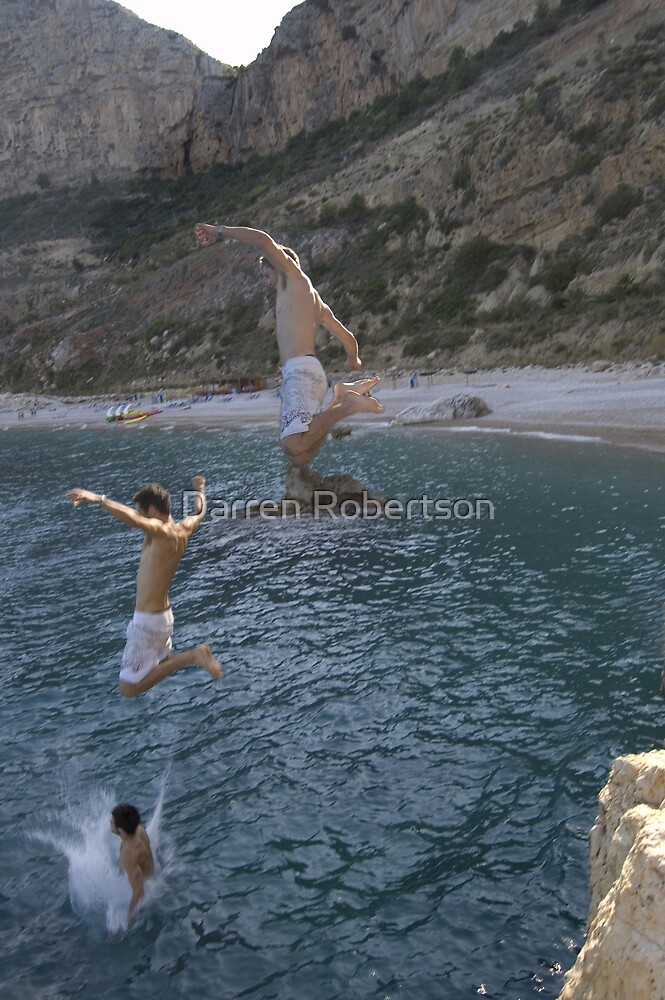 The Art Of Cliff Jumping (Spain 2007) by Darren Robertson