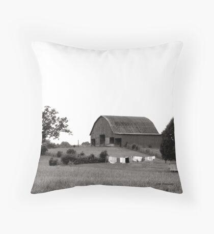 Washday Throw Pillow