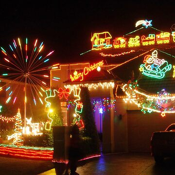 Christmas lights by zeevat