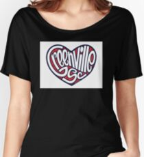 Greenville South Carolina Heart Women's Relaxed Fit T-Shirt