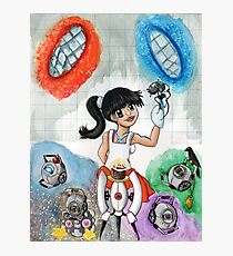 Chell and Friends Photographic Print