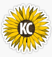 KC Sunflower Sticker