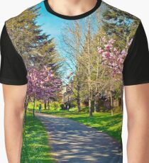 The Prunus Path, Vancouver, BC Graphic T-Shirt