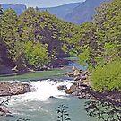 Mariman Waterfall  by Graeme  Hyde