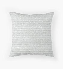Game of Thrones // Dracarys Entire Chapter  Throw Pillow