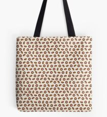 Chocolate Donuts on Cream - Small Tote Bag