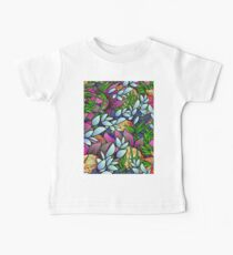 Floral Abstract Artwork G464 Baby Tee