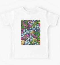 Floral Abstract Artwork G464 Kids Clothes