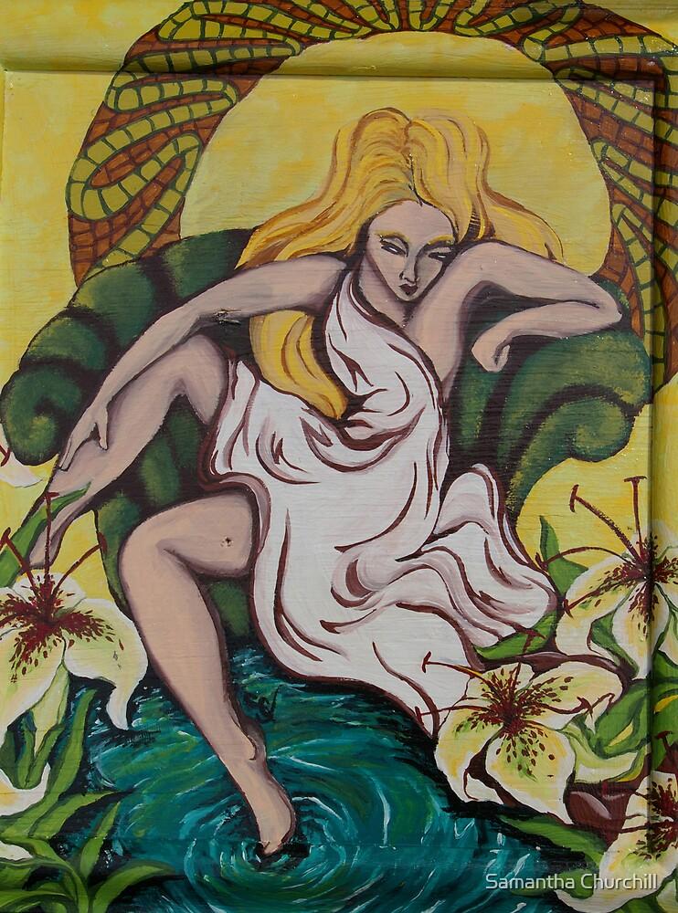 Goddess 2 of 6   by Samantha Churchill