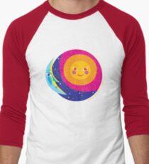 Sun Moon Men's Baseball ¾ T-Shirt