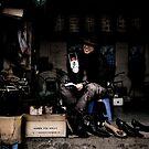 Tim Burton's shoe shop by Matthew Bonnington