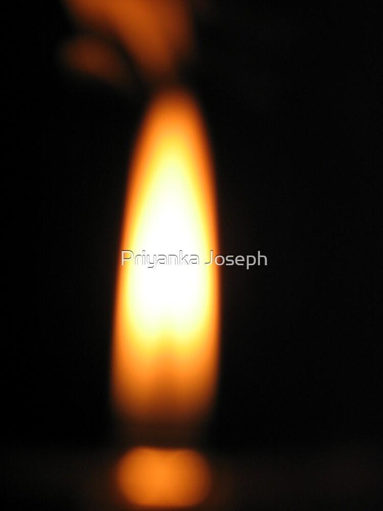 Flame Lingam by Priyanka Joseph
