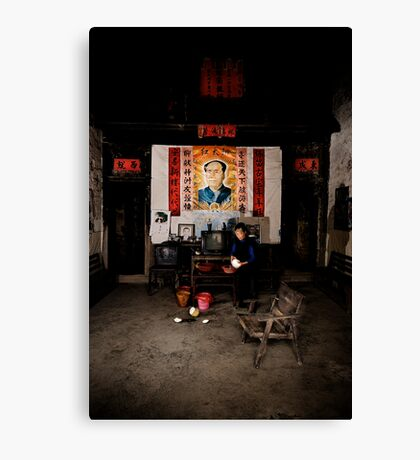 If you go carrying pictures of Chairman Mao.... Canvas Print