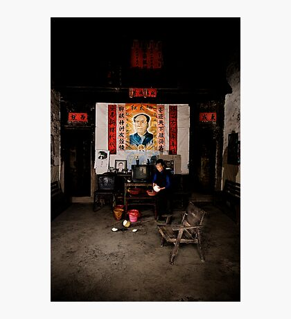 If you go carrying pictures of Chairman Mao.... Photographic Print