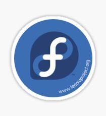 Fedora Button Sticker