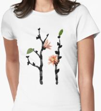 growth Womens Fitted T-Shirt