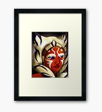 Conflicted, Ahsoka Tano, Star Wars Framed Print