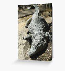 Croc  Croc Greeting Card