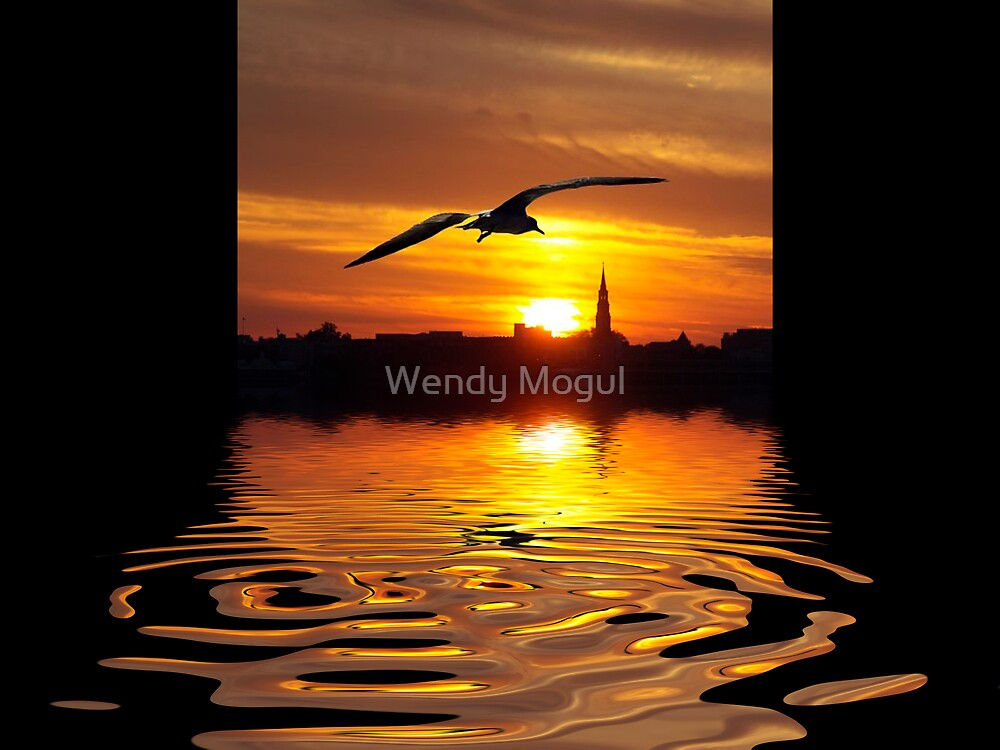 Charleston Sunset  by Wendy Mogul