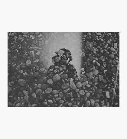 stone and mirror Photographic Print