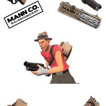 Team Fortress 2 Scout Cover by kaety