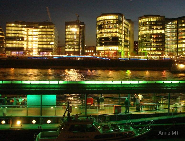 Lights of the Thames by Anna MT