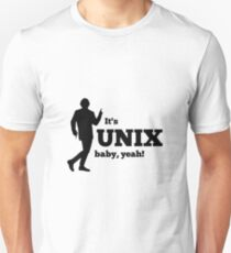It is a unix baby Unisex T-Shirt