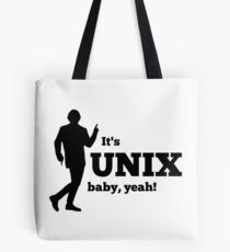 It is a unix baby Tote Bag