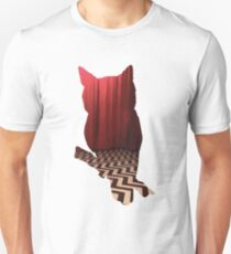 Twin Peaks Red Room Owl Unisex T-Shirt