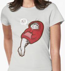 Kapuzen-Siegel Tailliertes T-Shirt für Frauen
