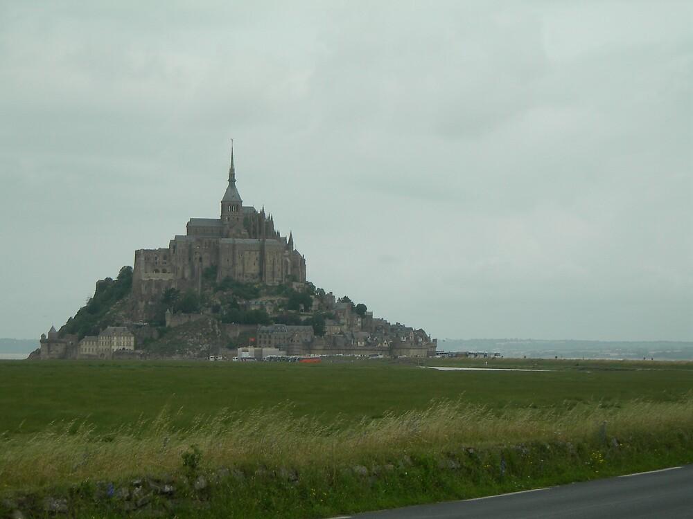 Mont StMichel Abbey by John Part
