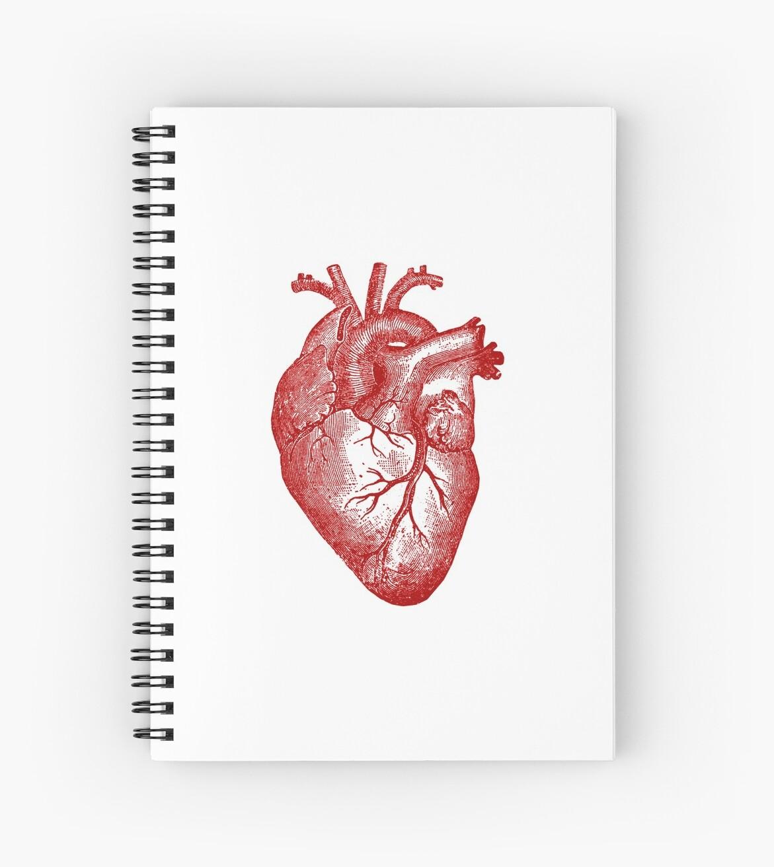 Cuadernos de espiral «Anatomía del corazón de la vendimia» de ...