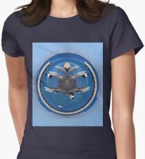 Woodmans Point marina little planet Womens Fitted T-Shirt