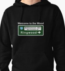Welcome to the Wood Pullover Hoodie