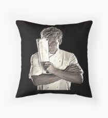 The Ram Man Throw Pillow