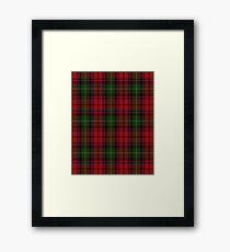 Craigmoor Tartan  Framed Print