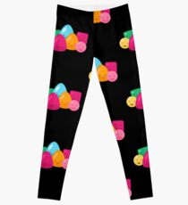 Happy Jelly Beans Sweets Candy  Leggings
