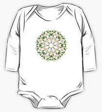 White Spring Blossom 2 One Piece - Long Sleeve