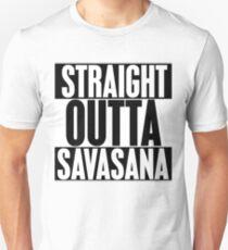 Straight Outta Savasana Unisex T-Shirt