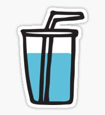 Water sippy cup Sticker