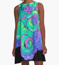 Cthulhu Tentacles A-Line Dress