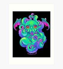 Cthulhu Tentacles Art Print