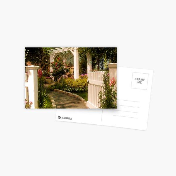 The Garden Gate Postcard