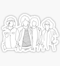 Catfish and the bottlemen outline  Sticker