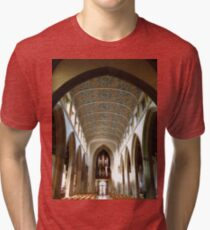 The Nave, Chelmsford Cathedral Tri-blend T-Shirt